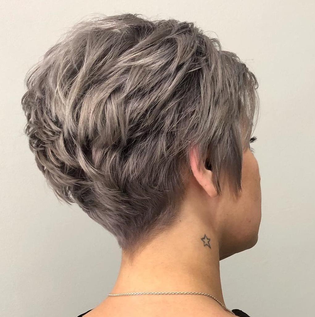 Pixie Cut for Wavy Hair