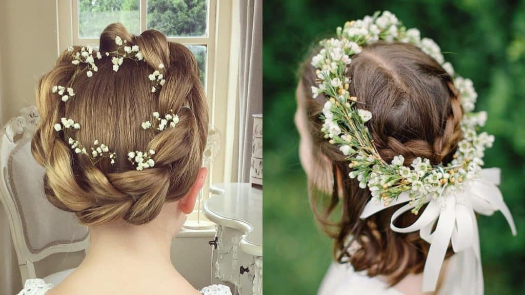 21 Most Cutest Flower Girl Hairstyles