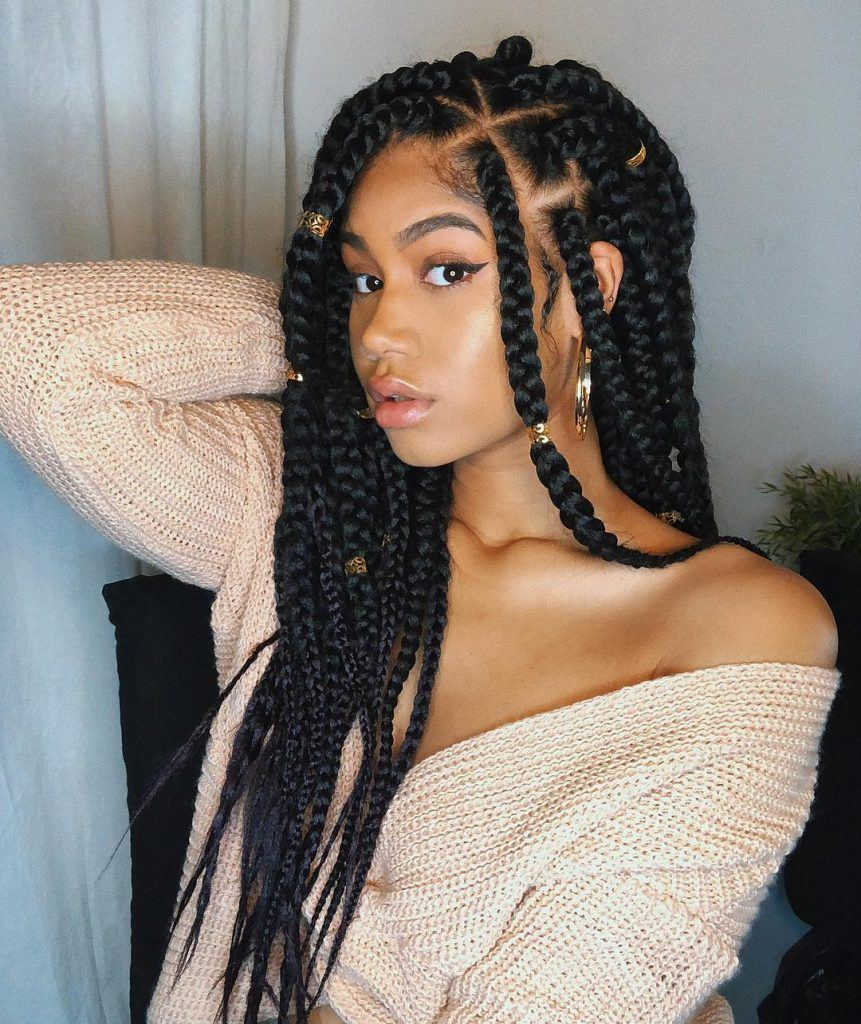Natural Hair Braids