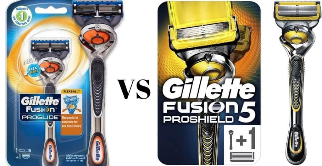 Gillette Fusion ProGlide VS ProShield: Complete Guide & Review