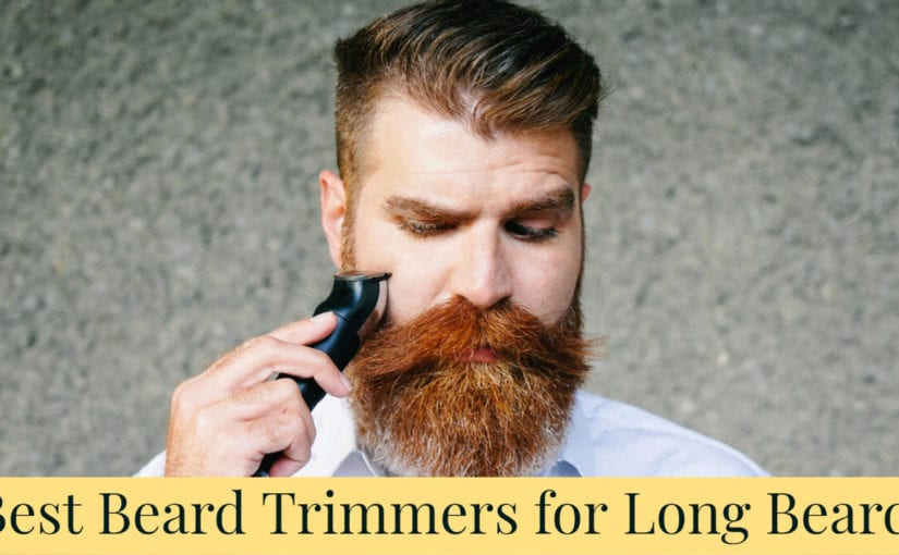 7 Best Beard Trimmers for Long Beards
