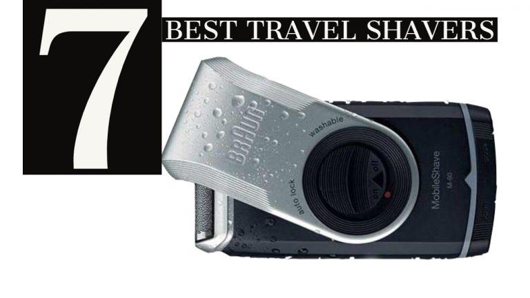Best Travel Shavers