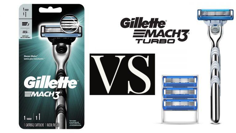 Gillette Mach 3 vs. Mach 3 Turbo Review
