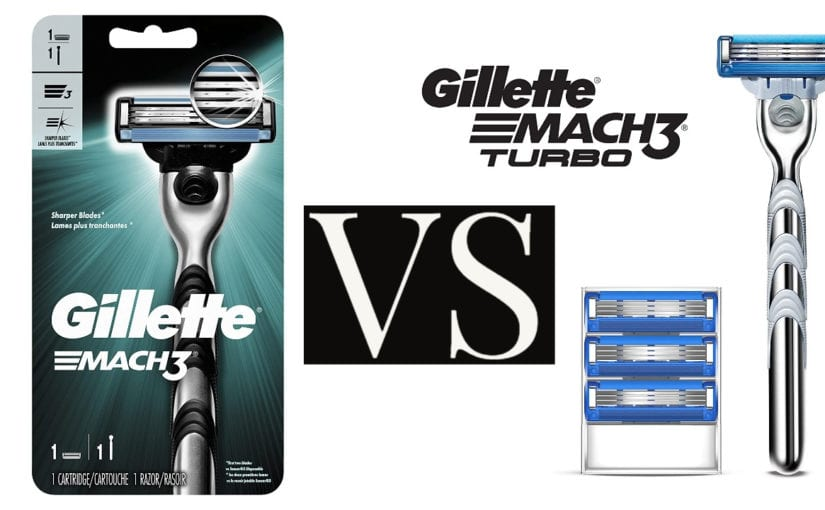Gillette Mach 3 vs. Mach 3 Turbo Review