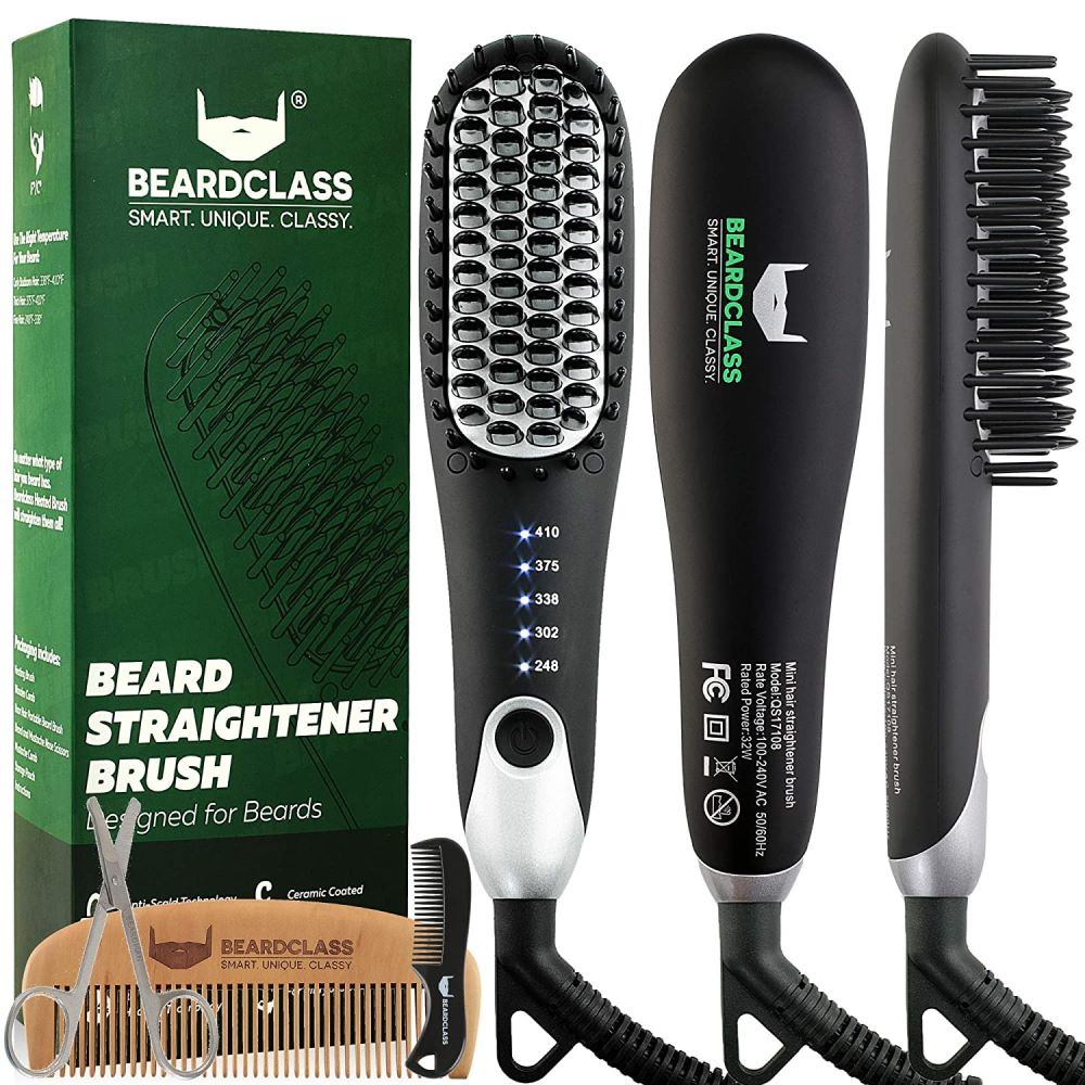 BeardClass Premium Beard Straightener