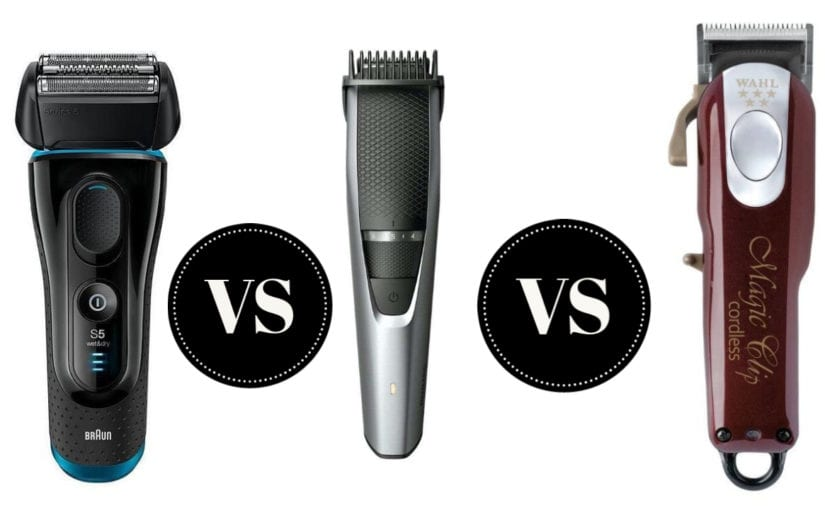 Shaver vs. Trimmer vs. Clipper