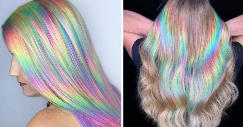 How to get Holographic Hair Color