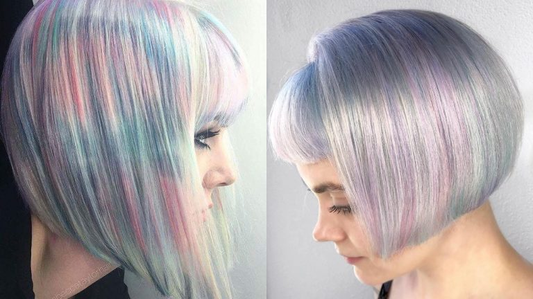 Holographic Hair Color