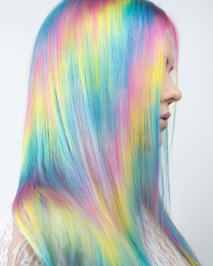 What is Holographic Hair Color?