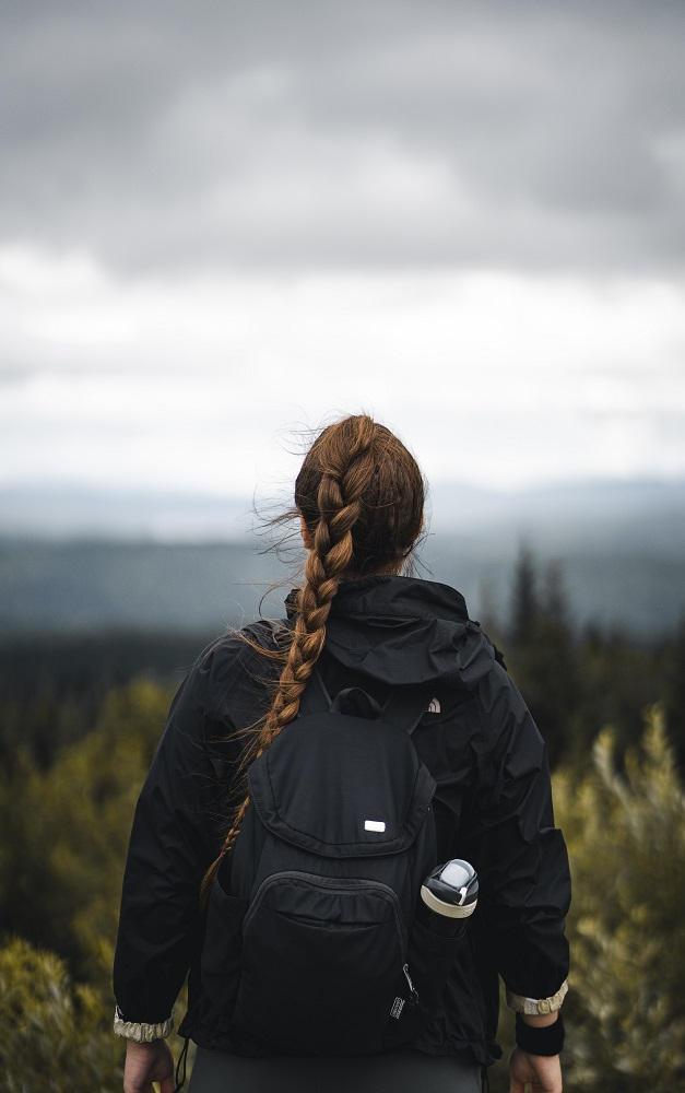 French braid ponytail is one of the best hairstyles for active women