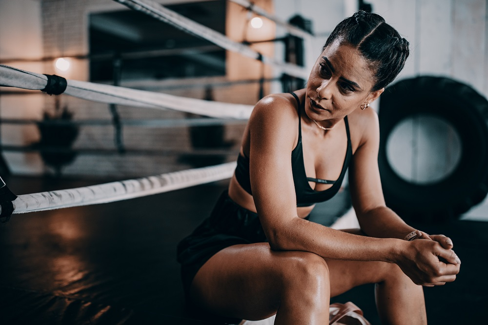 Boxer girl know what are the best hairstyles for active women