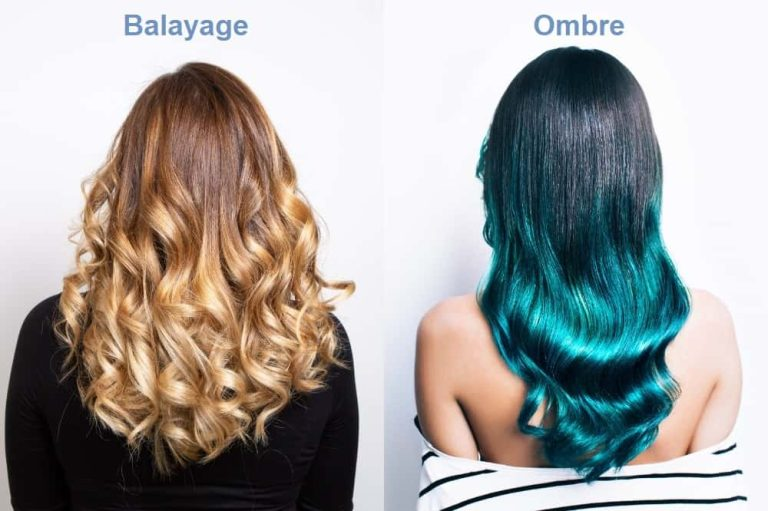Difference Between Ombre and Balayage