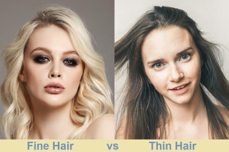 Fine Hair vs. Thin Hair
