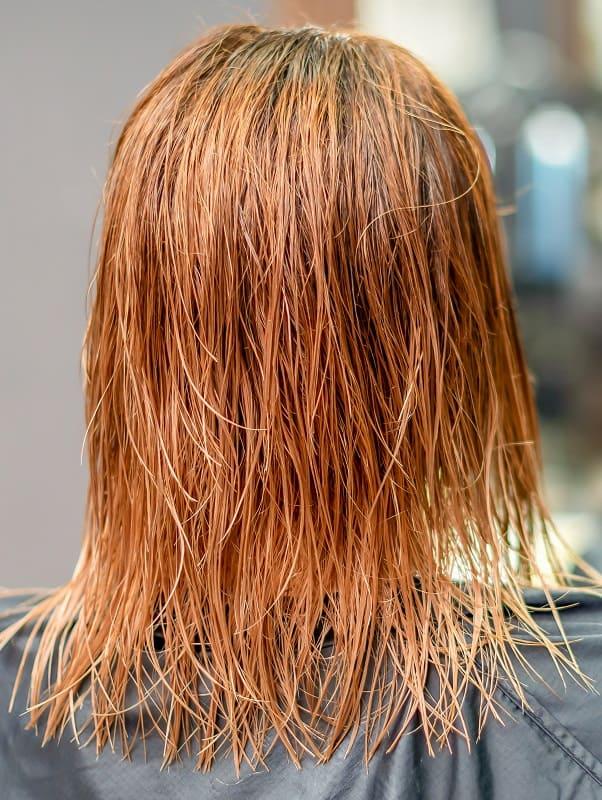 Why Hair Turn Orange after Dyeing Blonde