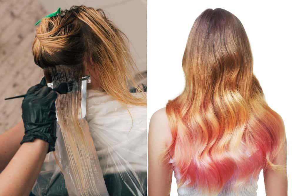 ombre hair technique